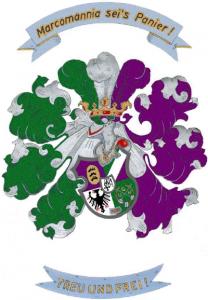 Wappen der Landsmannschaft Marcomannia